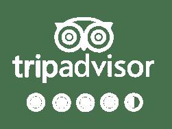 trip advisor white logo