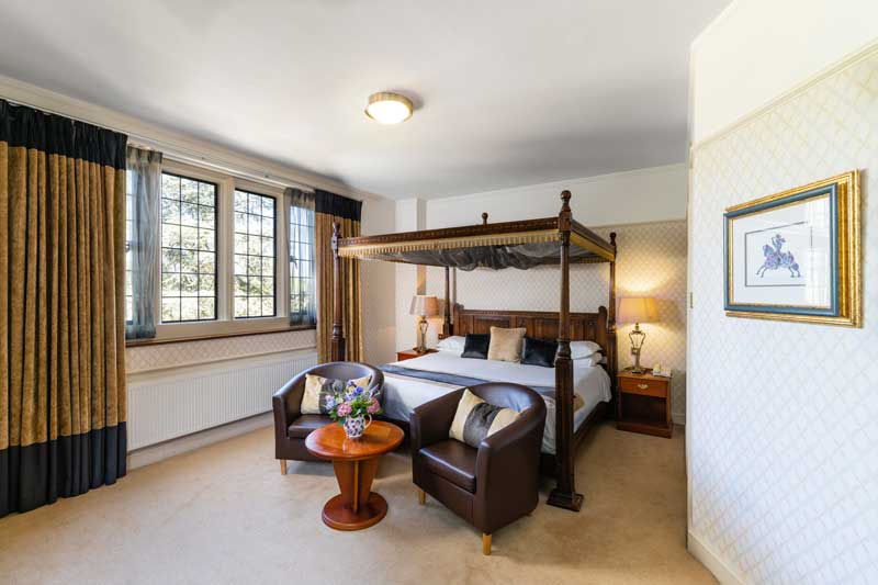 Four Poster Bed Hotel Hampshire